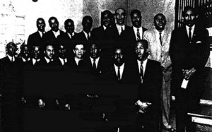 an analysis and the origins of gospel music in the african american community A discussion of the dusable museum of african american history in chicago,   where political and social organization as well as art, music, and dance were.